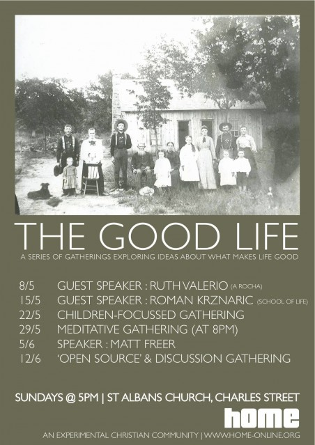 The Good Life Cycle Poster Movie