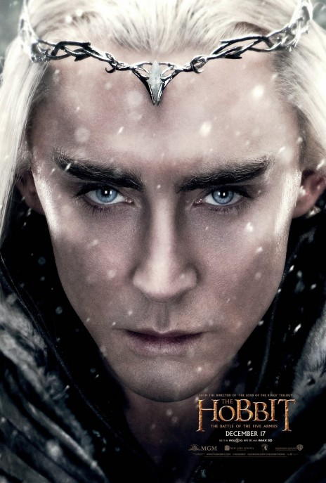 The Hobbit The Battle Of The Five Armies Official Character Poster Thranduil The Hobbit The Battle Of The Five Armies
