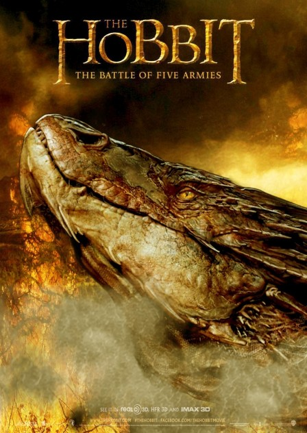 The Hobbit The Battle Of The Five Armies Smaug Poster The Hobbit The Battle Of The Five Armies
