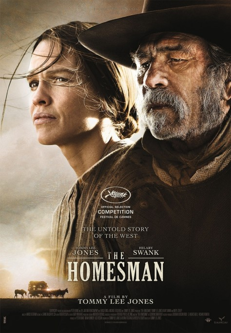 Poster Movie Review The Homesman Is Filled With Flawless Performances The Homesman