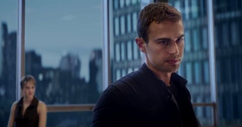 Theo James In Insurgent Movie Theo James