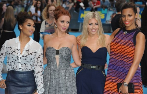 The Saturdays Attend The European Premiere Of Were The Millers At Odeon West End In London England The Saturdays
