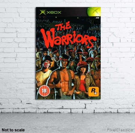 The Warriors Xbox Pal Walled Poster The Warriors