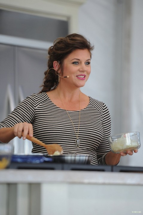 Tiffani Thiessen Guesting At The Whole Foods Market Grand Tasting Village