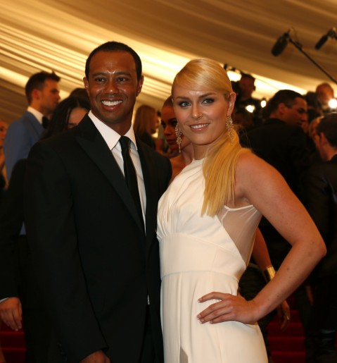 Tiger Woods And Lindsey Vonn Tiger Woods