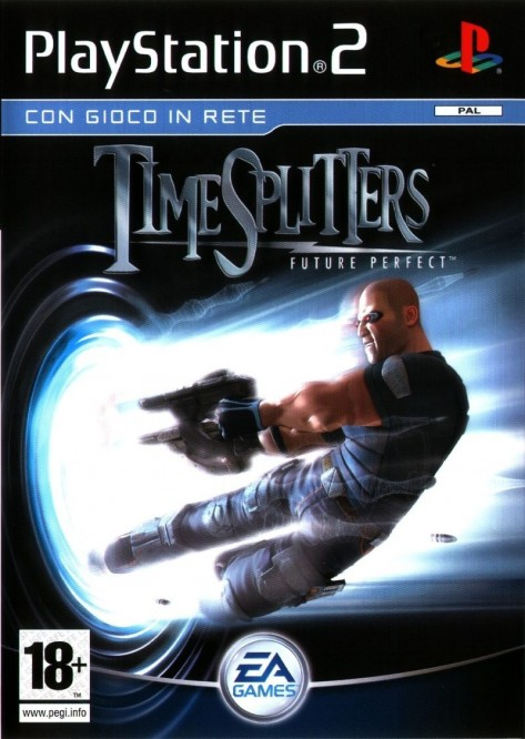 Timesplitters Future Perfect Playstation Front Cover Timesplitters