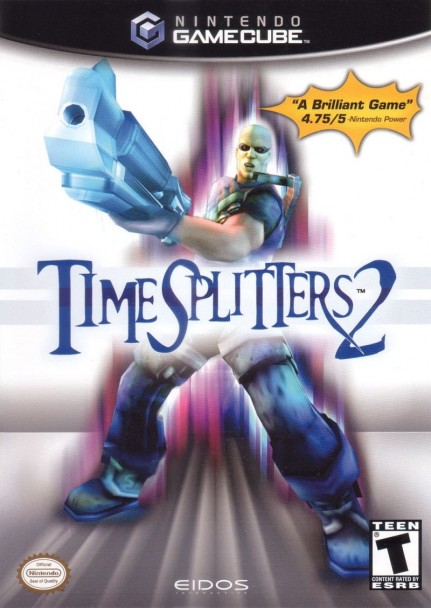 Timesplitters Gamecube Front Cover