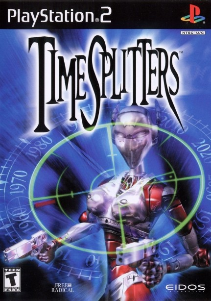 Timesplitters Playstation Front Cover Cover
