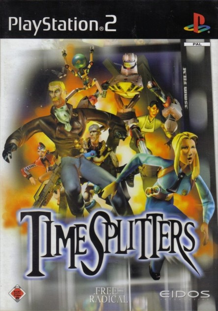 Timesplitters Playstation Front Cover Timesplitters