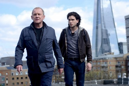 Still Of Peter Firth Tim Mcinnerny And Kit Harington In Spooks The Greater Good Large Picture