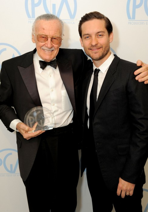 Stan Lee Tobey Maguire Tobey Maguire