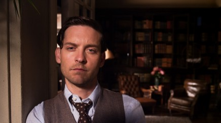 The Great Gatsby Tobey Maguire As Nick Carraway Face Ba Large Body