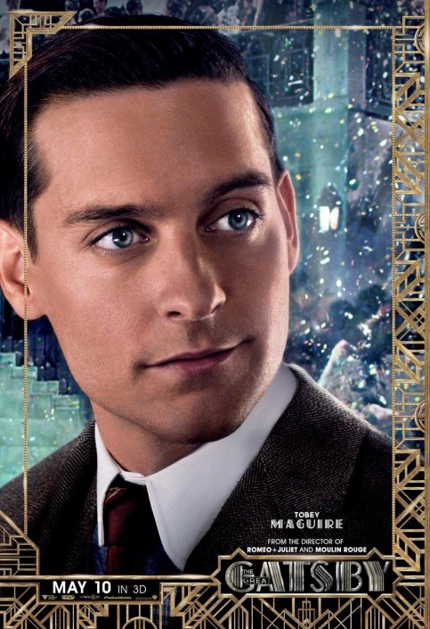The Great Gatsby Tobey Maguire Poster Movies Faedb Cb Ecc Large Movies