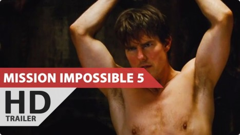 Mission Impossible Rogue Nation Hd Trailer Tom Cruise