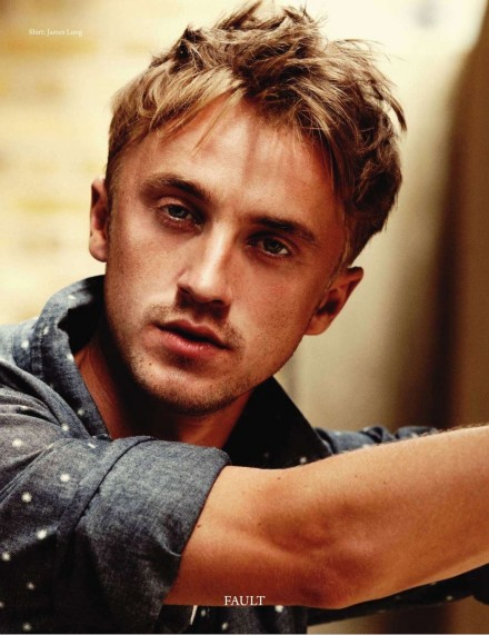 Tom Felton Costa Rica Scans De Tom Felton En La Revista Fault Tom Felton