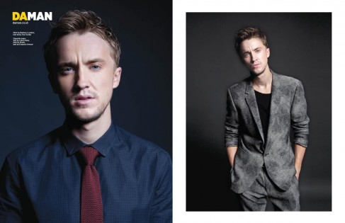 Tom Felton Spread Tom Felton