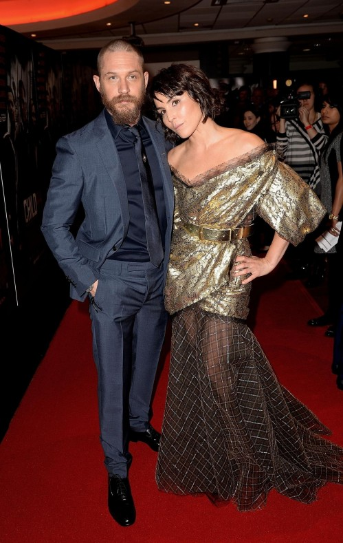 Tom Hardy And Noomi Rapace At Event Of Child
