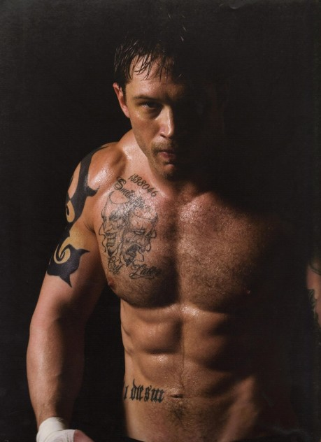 Tom Hardy Is Tommy Conlon Men Of Warrior Tom Hardy Wallpaper