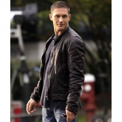 Tom Hardy Tuck Henson This Means War Black Leather Jacket