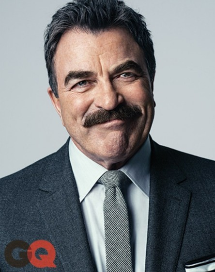 Blogs The Feed Tom Selleck Gq Magazine October Tom Selleck