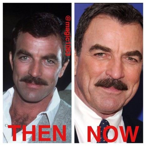 Tom Selleck Now And Then Tom Selleck