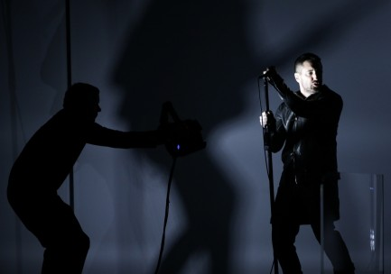 Trent Reznor Of Nine Inch Nails Performs At The Grammys Trent Reznor