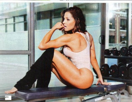 Trish Stratus In Inside Fitness Magazine July Issue Tv