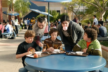 Still Of Josh Peck Alex Frost Troy Gentile And Nate Hartley In Drillbit Taylor Large Picture Drillbit Taylor
