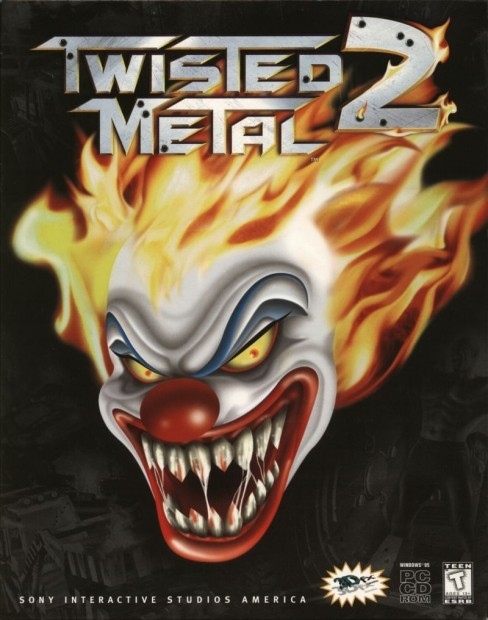 Twisted Metal Windows Front Cover