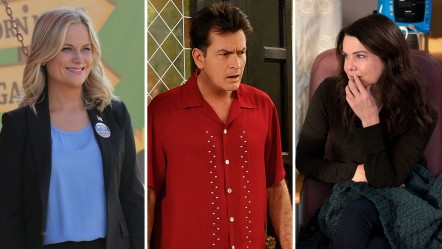 Parks And Recreation Two And Half Men Parenthood Split Two And Half Men