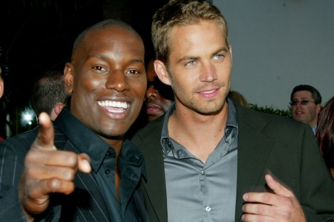 Tyrese Gibson And Paul Walker Tyrese Gibson