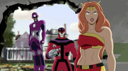 Four Ultimate Spider Man Characters