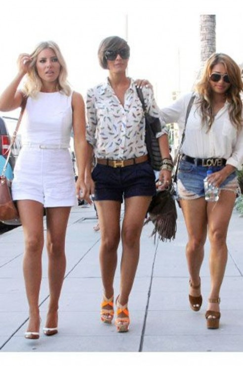 Mollie King Frankie Sandford And Vanessa White August Tattoos
