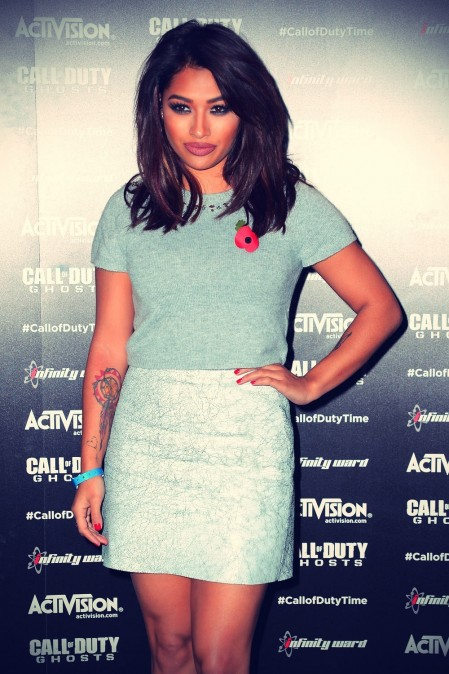 Vanessa White Attends Call Of Duty Ghosts Launch