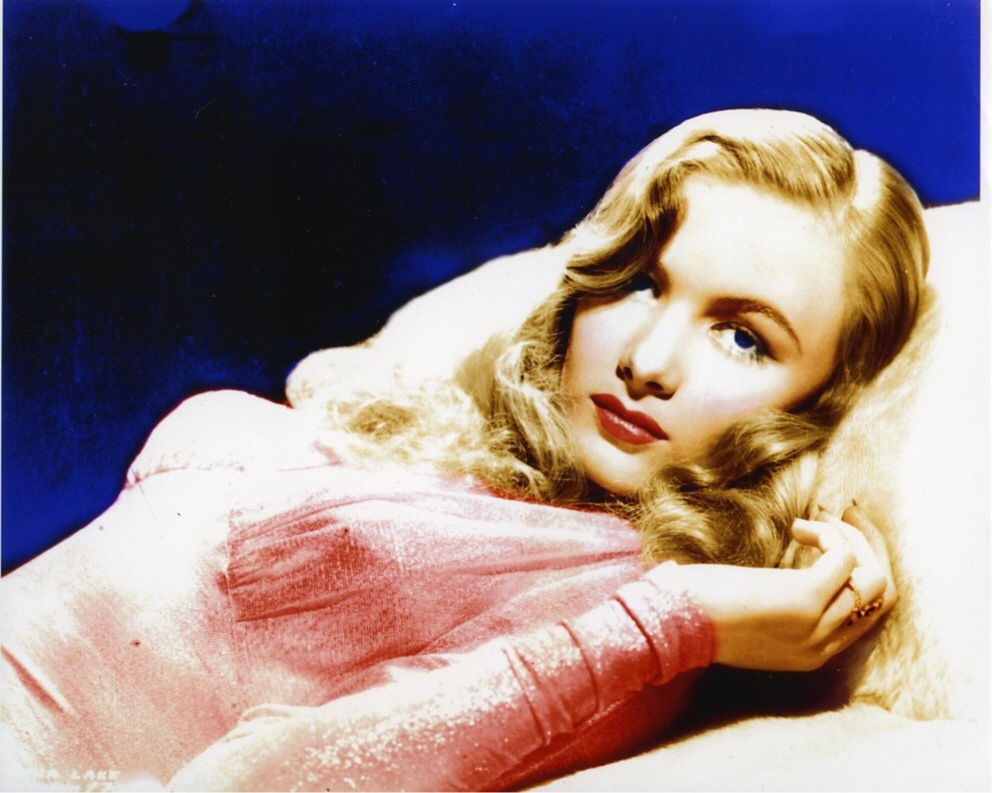 Veronica Lake Beautiful Color Photo Veronica Lake
