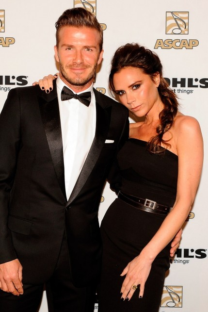 David And Victoria Beckham Garticle Victoria Beckham