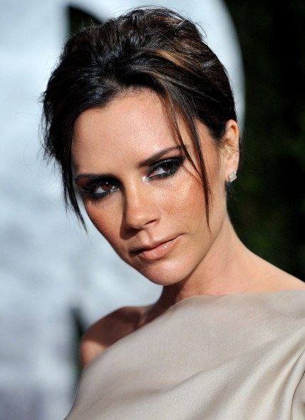 Victoria Beckham Vanity Fair Oscar Party Vettrinet