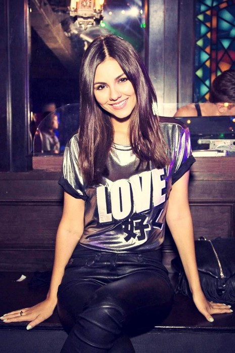 Victoria Justice At Rd Outfest Los Angeles
