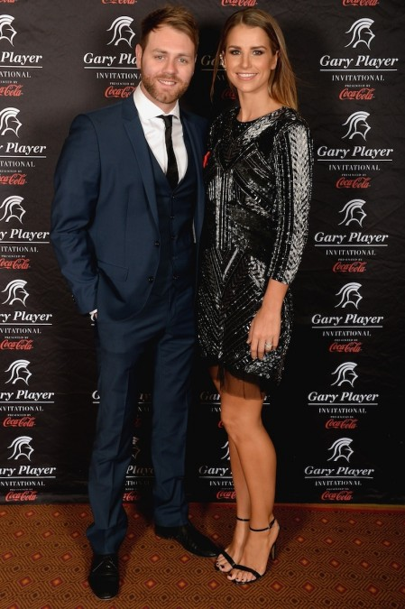 Brian Mcfadden Singer And Wife Vogue Williams During The Gala Dinner And Charitable Auction Of The Gary Player Invitational Presented By Coca Cola Brian Mcfadden