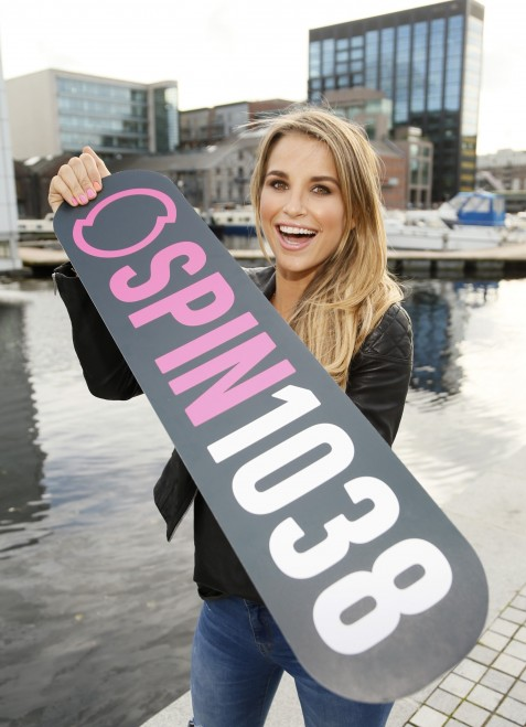 Vogue Williams As She Announces Her New Saturday Night Show On Spin