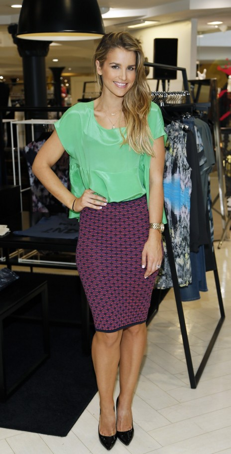 Vogue Williams At The Arnotts Insider Fashion Event