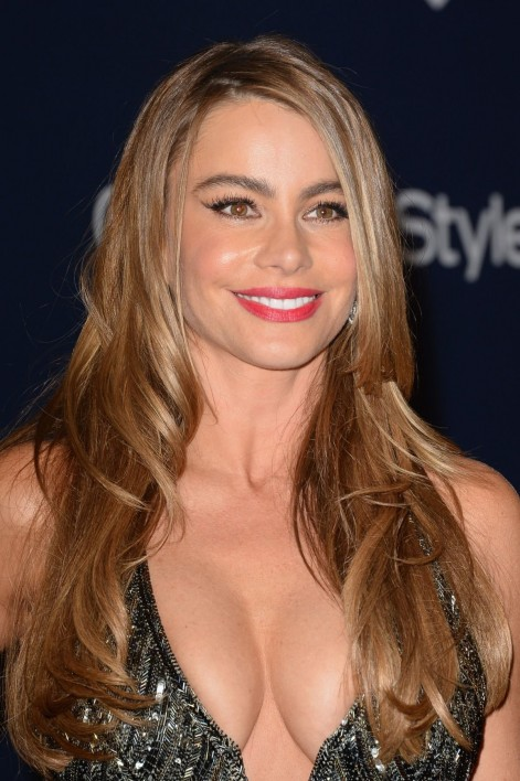 Sofia Vergara At Instyle And Warner Bros Golden Globes Afterparty Warner Bros