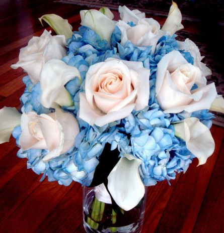 Blue Flowers For Wedding Bouquets Perfect Flowers