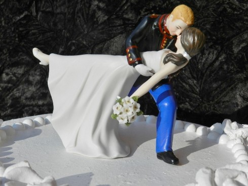 Good Marine Cake Toppers For Wedding Cakes With Military Usmc Marine Corps Groom Uniform Dance Dip Wedding Cake Topper