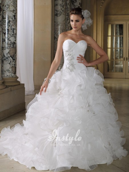 Mermaid Wedding Dresses With Feathers Bwln Dresses