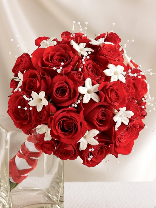 Red Rose Bouquets For Weddings Creative Flowers