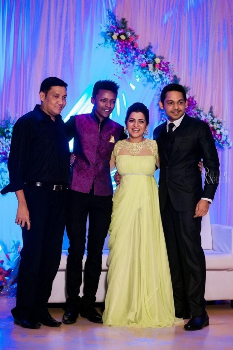 Tv Anchor Dd And Srikanth Wedding Reception Photos Tv