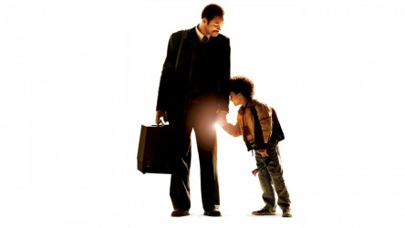 The Pursuit Of Happyness Will Smith And Son Wallpaper