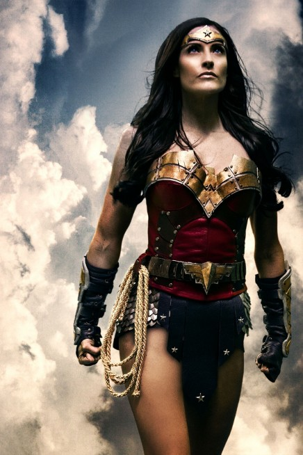 Rileah Vanderbilt As Wonder Woman Cast