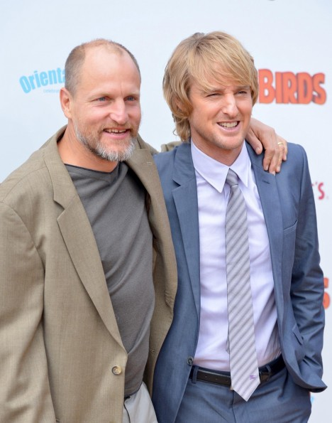 Woody Harrelson And Owen Wilson At Event Of Free Birds Large Picture And Owen Wilson
